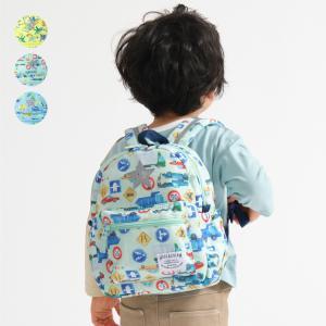 【子供服】 Kids Foret (キッズフォーレ) お花・働く車総柄窓付かさ傘 SS〜M B81821|marutaka-iryo