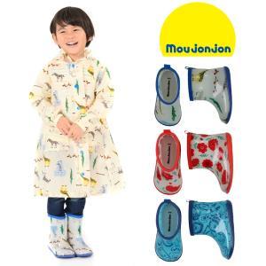 【子供服】 moujonjon (ムージョンジョン) 動物・お花総柄レインシューズ・長靴 13cm〜20cm B81842|marutaka-iryo