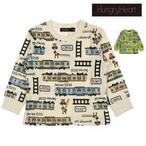 【子供服】 Hungry Heart (ハングリーハート) 日本製JR在来線電車総柄トレーナー 80cm〜130cm K50607|marutaka-iryo