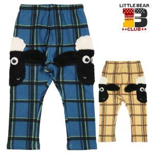 【子供服】 Little Bear Club (リトルベアークラブ) ひつじのショーン脇ポケットパンツ 80cm〜130cm K51061|marutaka-iryo