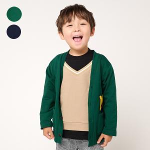 【子供服】 moujonjon (ムージョンジョン) 星キルトジャケット 80cm〜140cm M50400|marutaka-iryo
