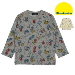【子供服】 moujonjon (ムージョンジョン) 日本製動物・車総柄Tシャツ 80cm〜130cm M50806|marutaka-iryo