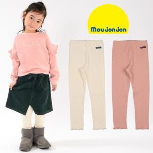 【子供服】 moujonjon (ムージョンジョン) 日本製ケーブルジャガード無地レギンス 80cm〜140cm M51034|marutaka-iryo
