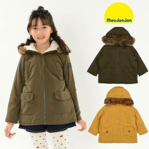 【子供服】 moujonjon (ムージョンジョン) フード付き無地中綿ジャケット 80cm〜140cm M60175|marutaka-iryo