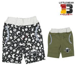 子供服 Little Bear Club リトルベアークラブ ひつじのショーン配色パンツ 80cm〜130cm N31143|marutaka-iryo