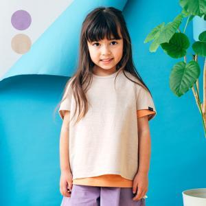 【子供服】 WILL MERY (ウィルメリー) ゆったりドルマン無地Tシャツ 80cm 90cm 100cm 110cm 120cm 130cm キッズ 女の子 半袖 N44802|marutaka-iryo
