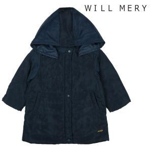 【子供服】 Will Mery (ウィルメリー) 無地ポリエステル中綿ロングジャケット 80cm〜140cm N60107 marutaka-iryo