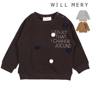 SALE 子供服 Will Mery (ウィルメリー) 爆温裏起毛裏シャギートレーナー 80cm〜130cm N60628|marutaka-iryo