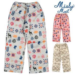 【子供服】 Miary mail (ミアリーメール) エステルオックスフリルリボン付スノーパンツ 80cm〜130cm N97050|marutaka-iryo
