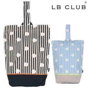 【子供服】 LB CLUB (エルビークラブ) 水玉ストライプ柄シューズケース・靴袋・靴入れ S13653|marutaka-iryo