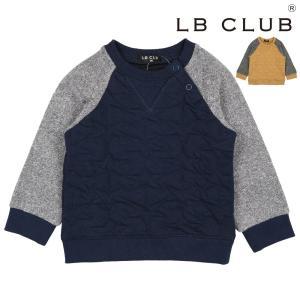 SALE 子供服 LB CLUB エルビークラブ 星柄ニットキルトトレーナー 80cm〜130cm S50653|marutaka-iryo