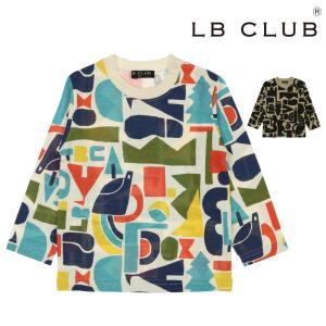 【子供服】LB CLUB(エルビークラブ) 日本製北欧風アウトドア柄Tシャツ 80cm〜130cm S50851|marutaka-iryo