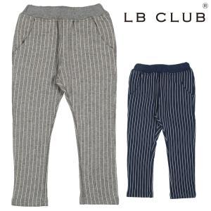 【子供服】 LB CLUB (エルビークラブ) 爆温裏起毛裏シャギーストライプ柄パンツ 80cm〜130cm S51077|marutaka-iryo