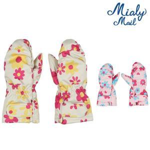 【子供服】 Miary mail (ミアリーメール) エステル花柄手袋・グローブ S,M S97806|marutaka-iryo