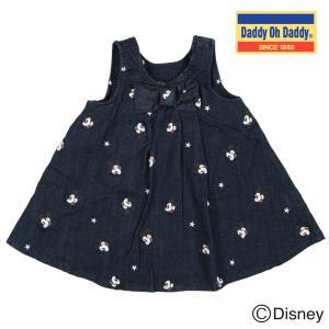 【子供服】 Daddy Oh Daddy (ダディオダディ) ミッキーデザインジャンパースカート 80cm〜150cm V50362|marutaka-iryo