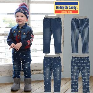 【子供服】 Daddy Oh Daddy (ダディオダディ) 爆温裏起毛・裏シャギーデニムパンツ 80cm〜150cm V51020|marutaka-iryo