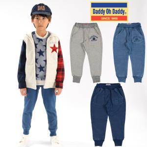 【子供服】 Daddy Oh Daddy (ダディオダディ) 裏シャギー爆温裏起毛裾リブパンツ 80cm〜150cm V51032|marutaka-iryo