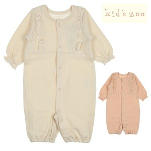子供服 kids zoo キッズズー フリル付2WAYオール・ロンパース 70cm W60706