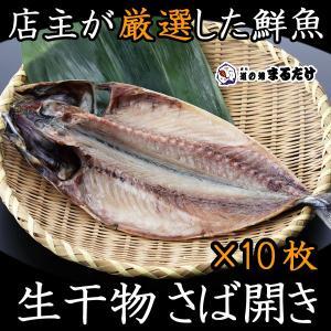 干物 詰め合わせ さば開き 10枚 生干物セット 千葉県産 鯖 マサバ|marutake-netshop