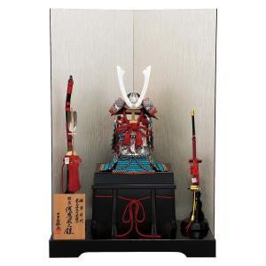 五月人形 鎧 平安豊久 鎧飾り 雄山作 浅葱威大鎧 本仕立て 鎧飾り おしゃれ marutomi-a
