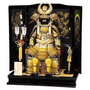 五月人形 鎧 平安豊久 着用鎧飾り 徳川家康 5歳用 着用鎧飾り おしゃれ marutomi-a