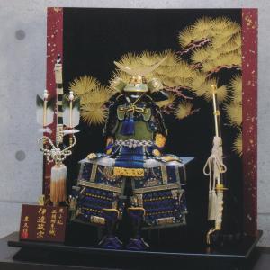 五月人形 鎧 平安豊久 鎧飾り 伊達政宗 鎧飾り おしゃれ|marutomi-a