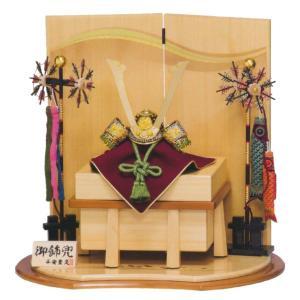 五月人形 兜 平安豊久 兜飾り 仁 兜飾り コンパクト おしゃれ|marutomi-a