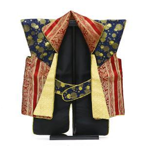 サイズ:陣羽織を平置きした状態で、縦40cm×横48cm(スタンドは含みません)  陣羽織 金襴(は...