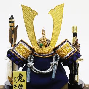 五月人形 兜 兜ケース飾り 久月 10号 兜飾り 取付ケース入り アクリルケース オルゴール付 ケース入り コンパクト おしゃれ marutomi-a 03