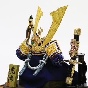 五月人形 兜 兜ケース飾り 久月 10号 兜飾り 取付ケース入り アクリルケース オルゴール付 ケース入り コンパクト おしゃれ marutomi-a 04