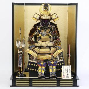 五月人形 鎧 着用鎧飾り 龍玉作 徳川家康公 鎧 30号 着用鎧飾り 金屏風セット おしゃれ marutomi-a