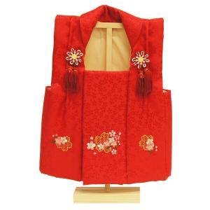 被布着 刺繍付き (濃赤) 3640-09-001|marutomi-a