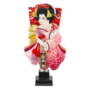 羽子板 お祝い 初正月 8号 羽子板 飾り台セット ミニ コンパクト|marutomi-a