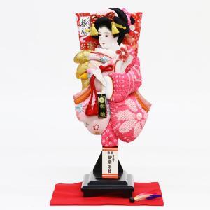 羽子板 お祝い 初正月 13号 羽子板 飾り台 羽根 毛せんセット ミニ コンパクト|marutomi-a