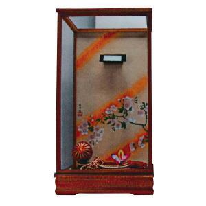 羽子板 お祝い 初正月 16号 16号用 淡茶飾りケース|marutomi-a