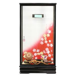 羽子板 お祝い 初正月 16号 16号用 黒塗り飾りケース|marutomi-a