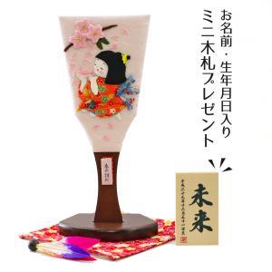 羽子板 お祝い 初正月 わらべ羽子板 春の訪れ 敷き布 羽根 オルゴール写真立て付き|marutomi-a