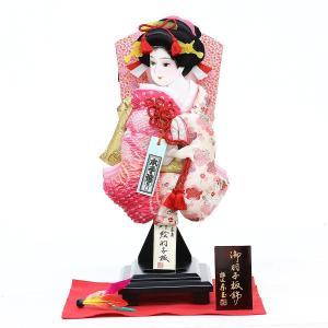 羽子板 お祝い 初正月 東玉 10号 美月 羽根 敷き布 スタンド付き ミニ コンパクト|marutomi-a