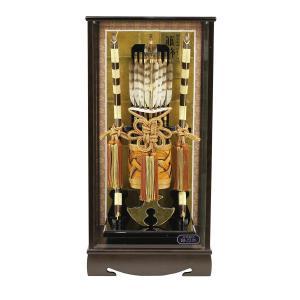 破魔弓 17号 銘木 鉄刀木 (たがやさん) 箙飾り 初正月 破魔矢|marutomi-a
