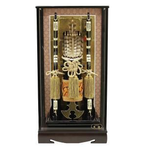 破魔弓 18号 銘木 黒檀 箙飾り 初正月 破魔矢|marutomi-a