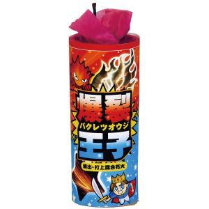 打ち上げ花火 爆裂王子 (打上+噴出) (10本入り)|marutomi-a