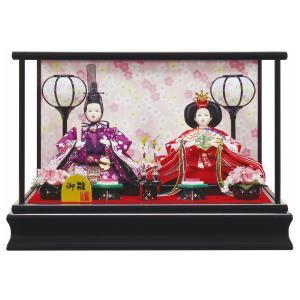 雛人形 コンパクト ケース入り 衣装着 小芥子親王 ケース飾り|marutomi-a