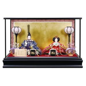 雛人形 コンパクト ケース入り 平安優香作 京十二番親王 ケース飾り|marutomi-a
