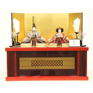 雛人形 清水久遊作 雛人形 親王飾り marutomi-a