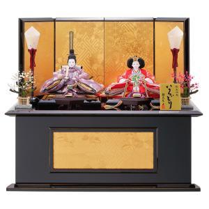 雛人形 コンパクト 収納 東玉 そのは 小三五親王 収納飾り|marutomi-a