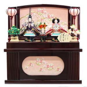 雛人形 コンパクト 収納 吉徳 吉徳大光 花ひいな 小三五親王 収納飾り|marutomi-a