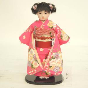 雛人形 ひな祭り 松寿作 市松人形 marutomi-a