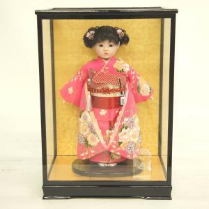 雛人形 ひな祭り 松寿作 市松人形 ケース入り (HB9) marutomi-a