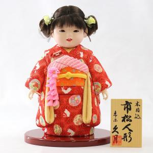 久月 木目込 市松人形|marutomi-a