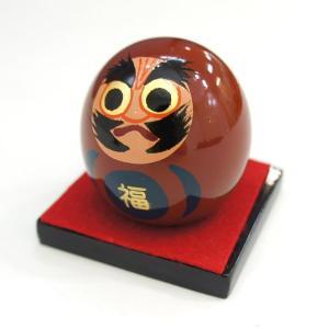 大内人形 福だるま OU-FD-001 牧野大内塗大内人形製作所 大内塗り|marutomi-a